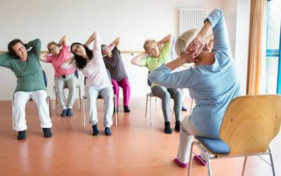 Senior Stretch & Strengthen (Chair): Every Friday @ 9:30 a.m.