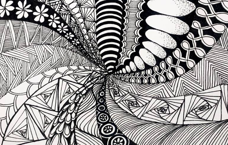 Zentangle Untangled: Every Thursday @ 5:30 pm